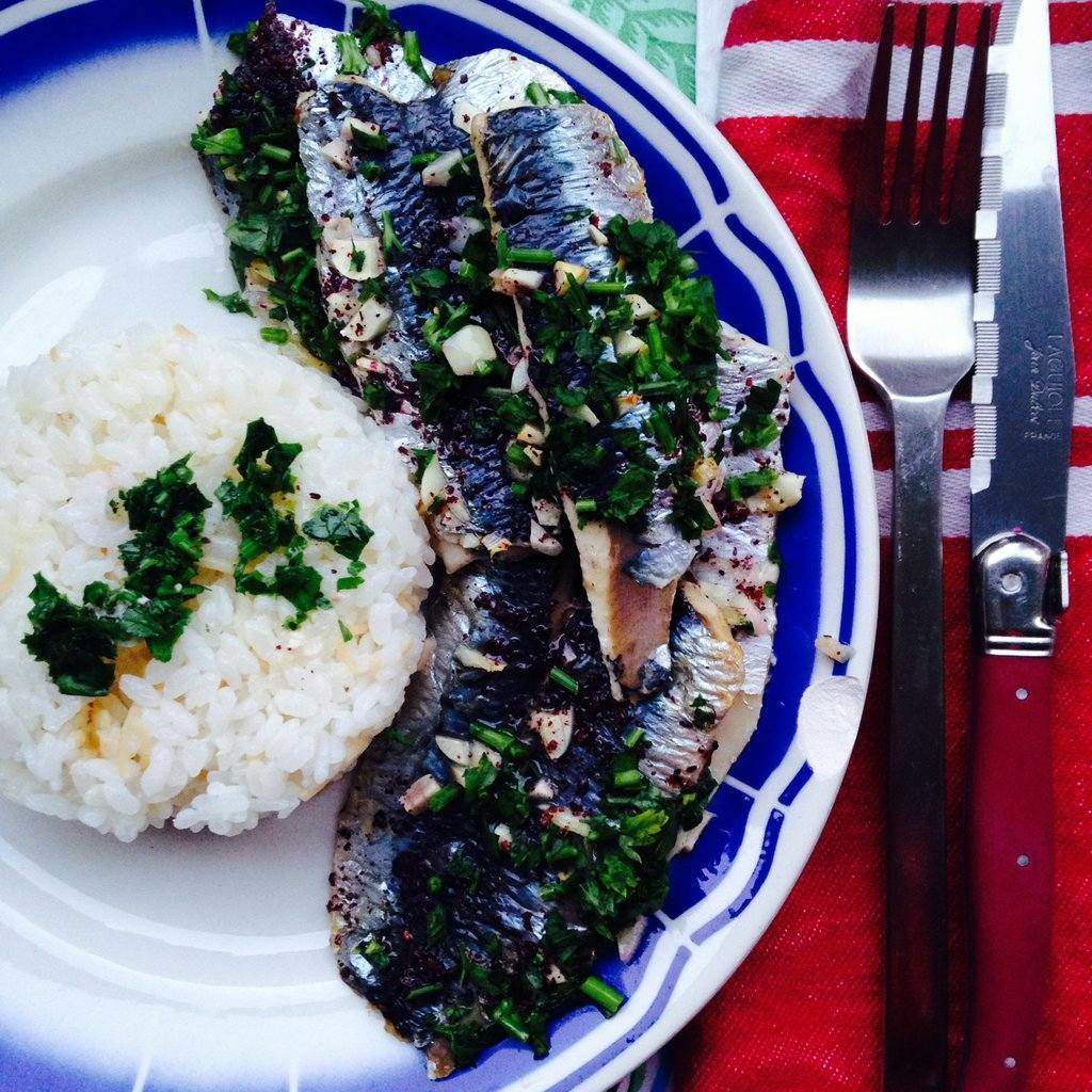 Easy Grilled Sardines